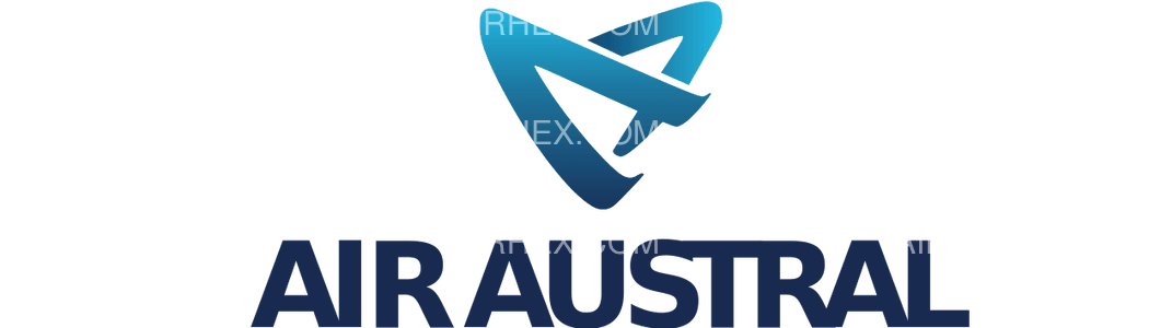 Air Austral logo with name