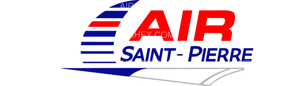 Air Saint Pierre logo with name