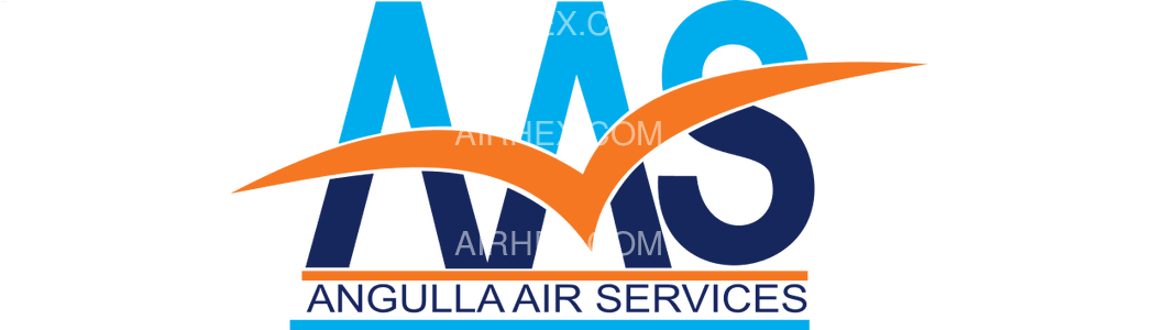 Anguilla Air Services logo with name