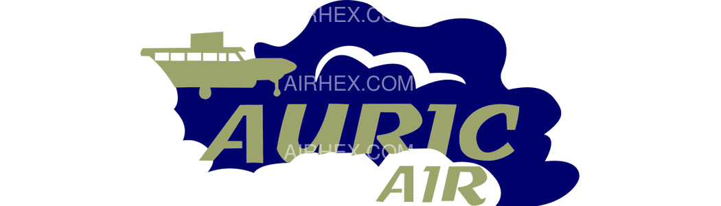 Auric Air logo with name