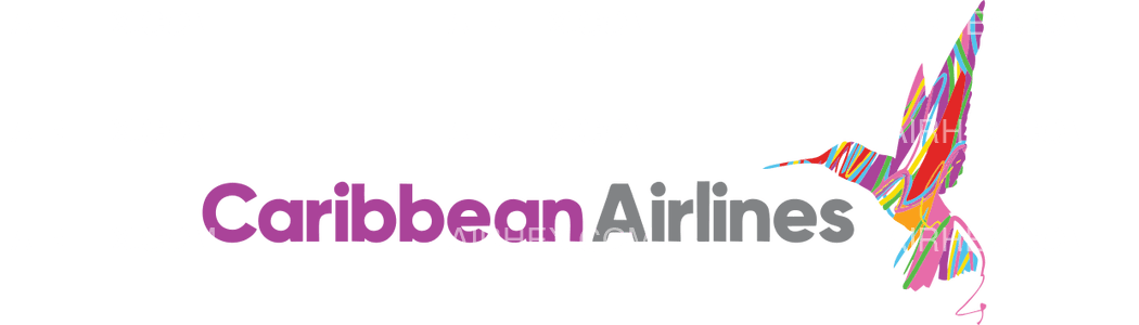 Caribbean Airlines logo with name