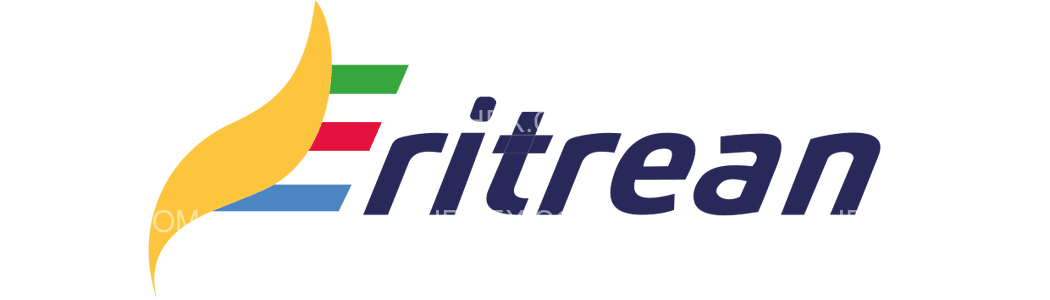 Eritrean Airlines logo with name