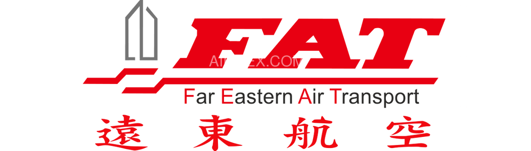 FAT Far Eastern Air Transport logo with name