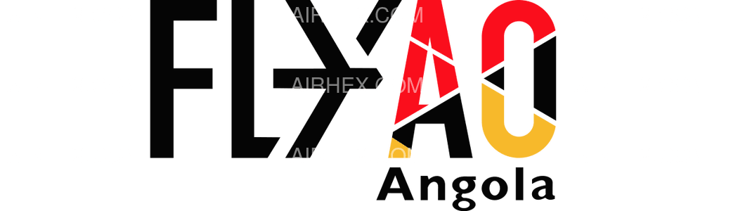 Fly Angola logo with name