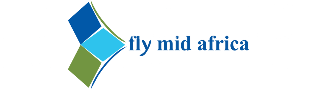 Fly Mid Africa logo with name