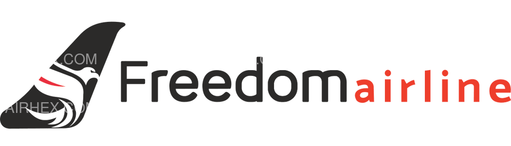Freedom Airline Express logo with name