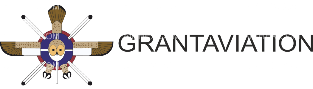 Grant Aviation logo with name