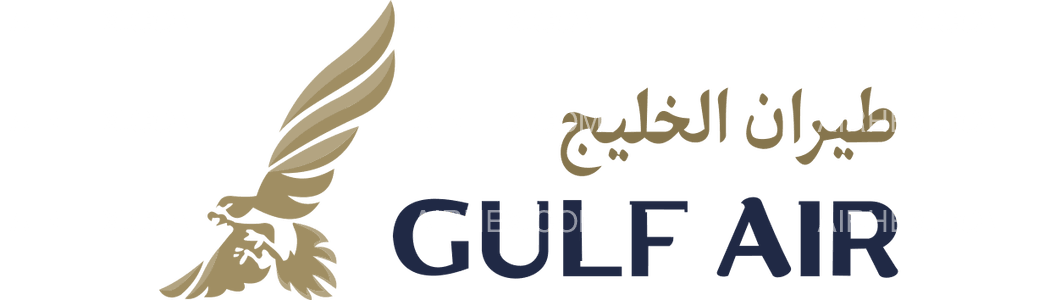 Gulf Air logo with name