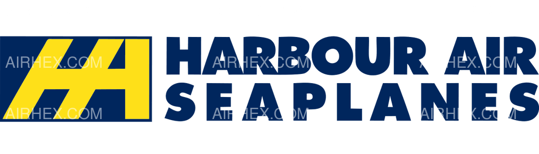 Harbour Air Seaplanes logo with name