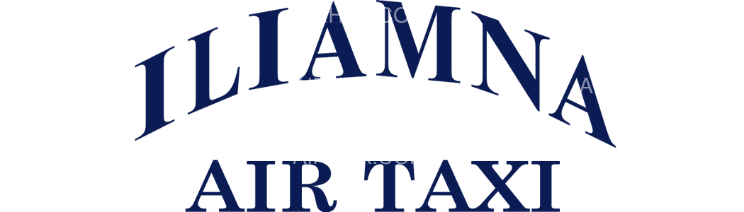 Iliamna Air Taxi logo with name