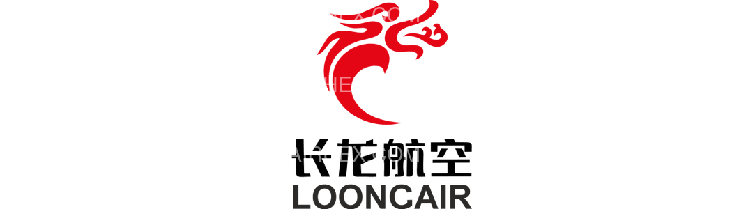 Loong Air logo with name