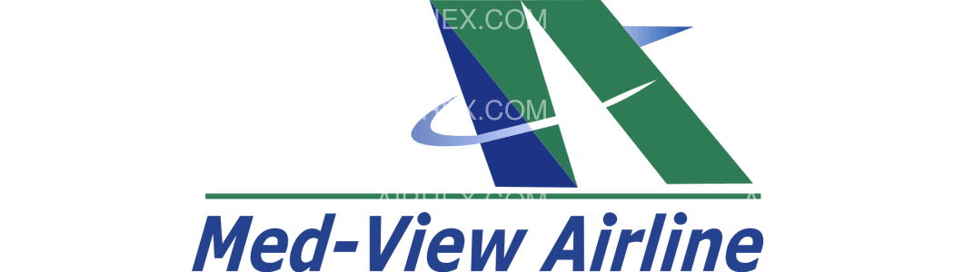 Med-View Airline logo with name