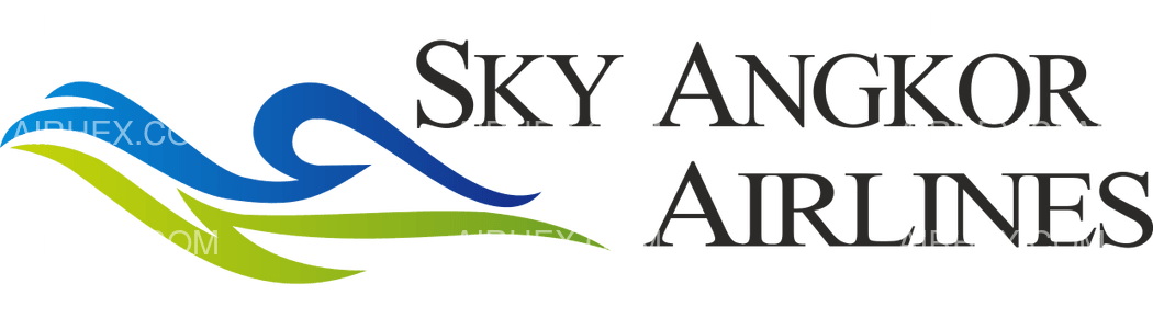 Sky Angkor Airlines logo with name