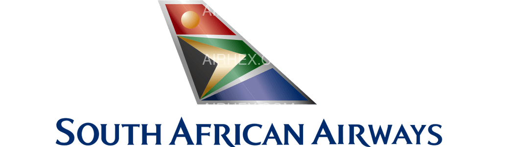 South African Airways logo with name