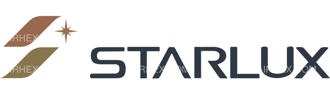 STARLUX Airlines logo with name