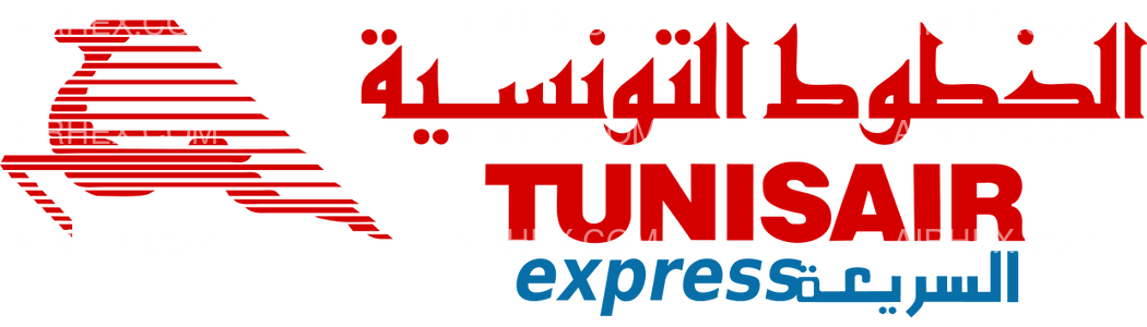 Tunisair Express logo with name