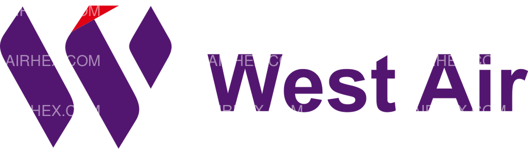 West Air logo with name
