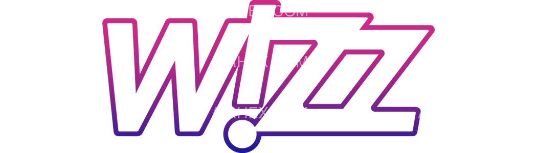 Wizz Air logo with name