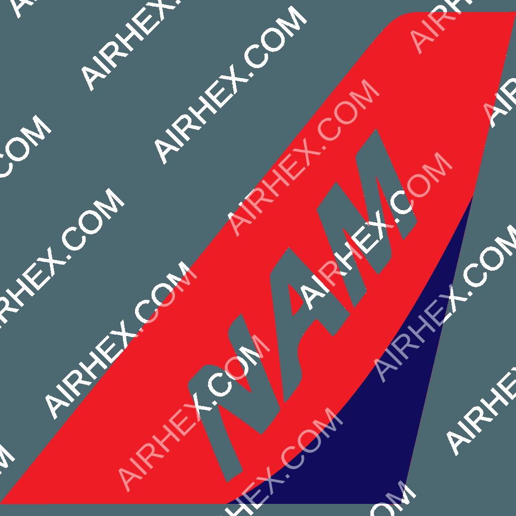 Letter A Logo Set: NAM Air Logo (updated 2020)
