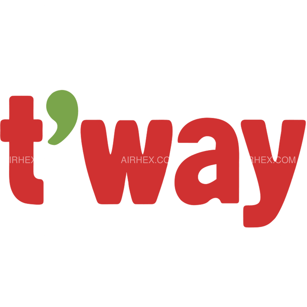 Airline Logo: T'way Air