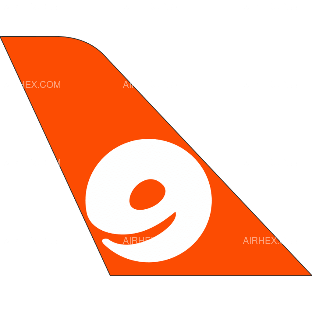9 Air tail logo