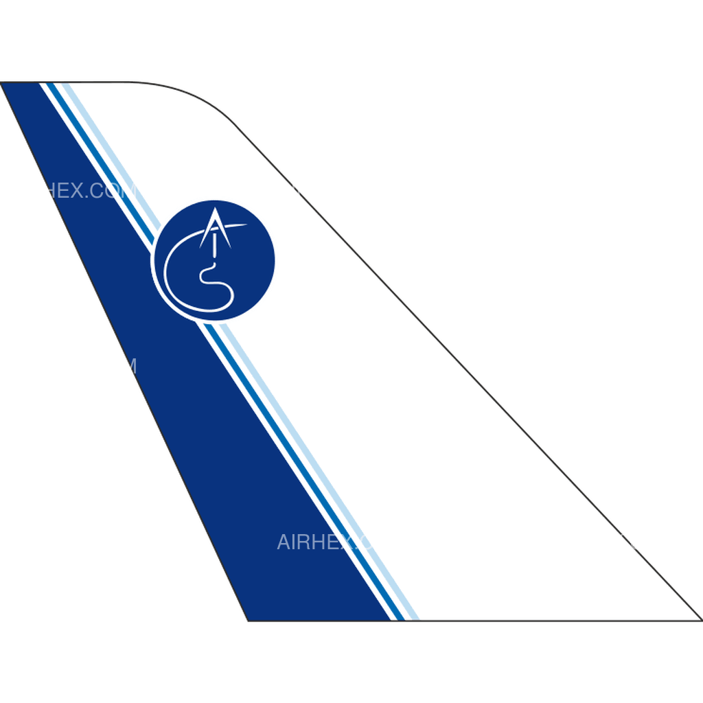AIS Airlines tail logo