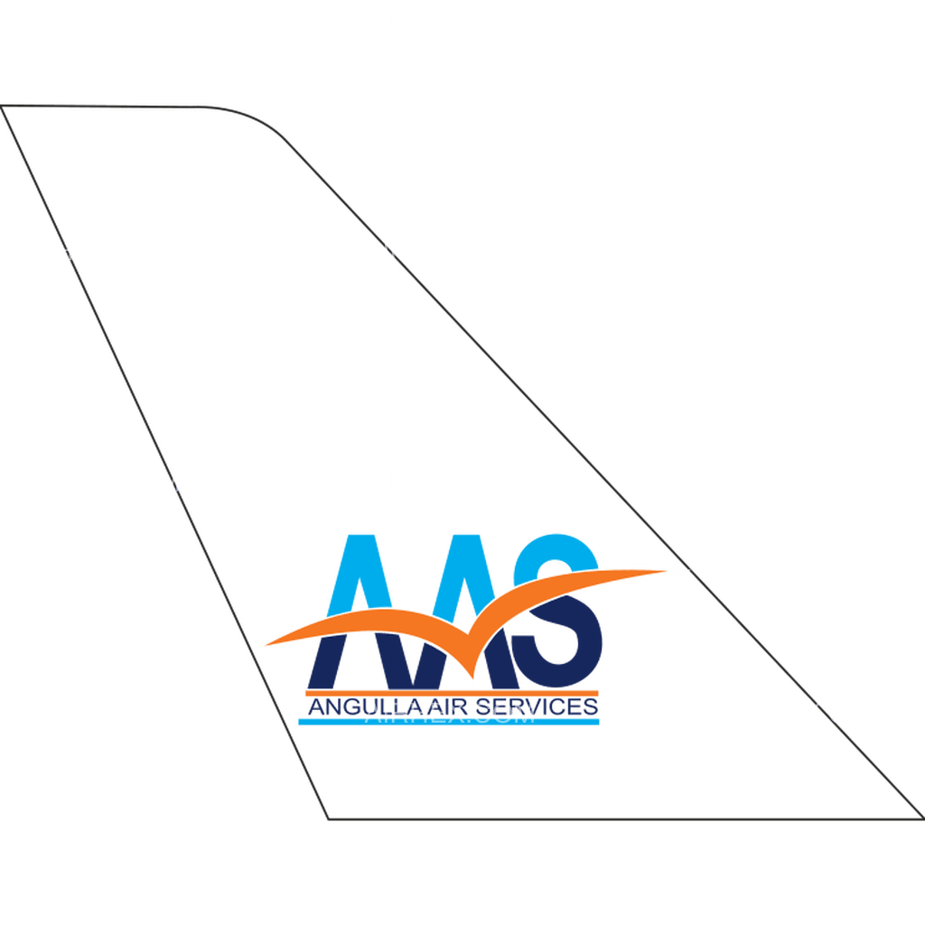 Anguilla Air Services tail logo