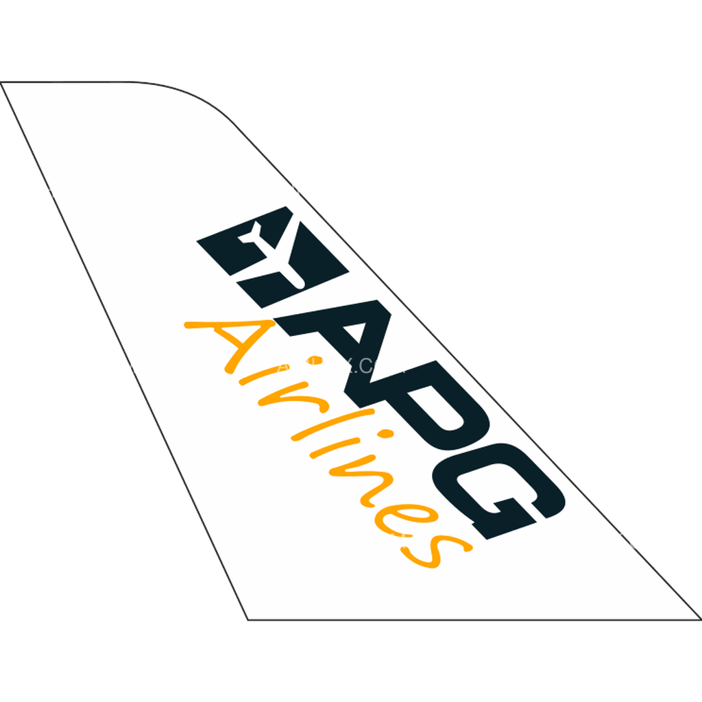APG Airlines tail logo