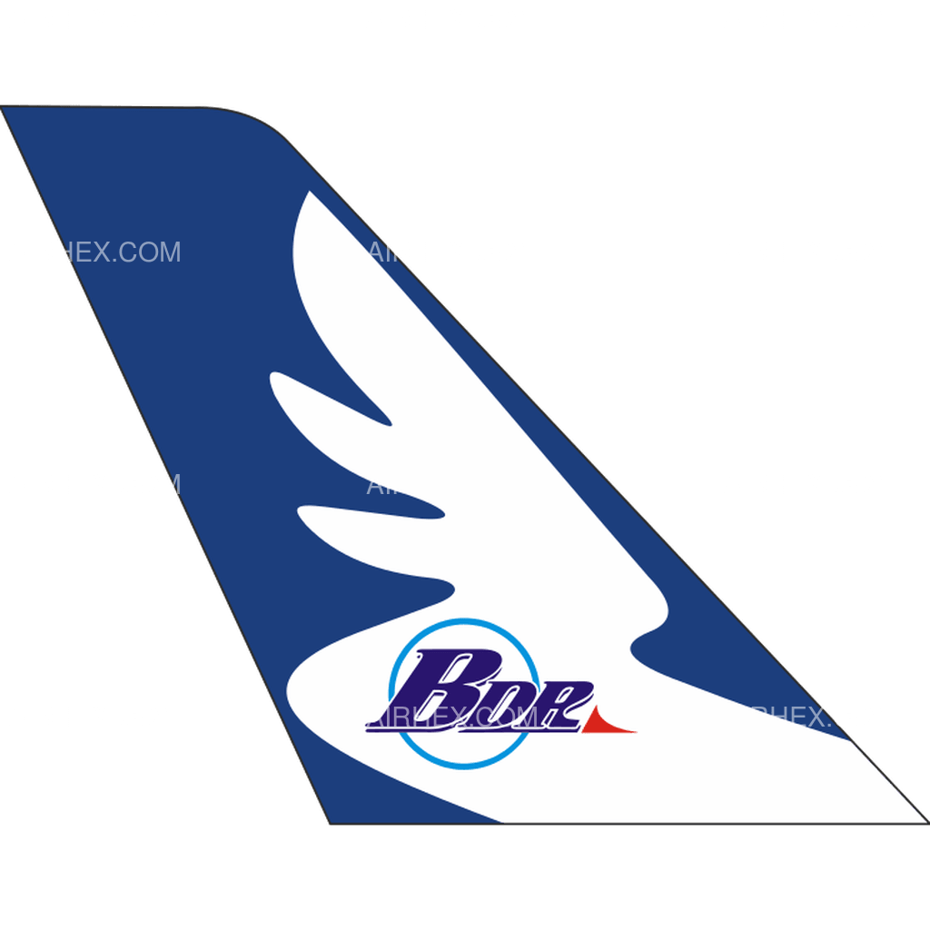 Badr Airlines tail logo