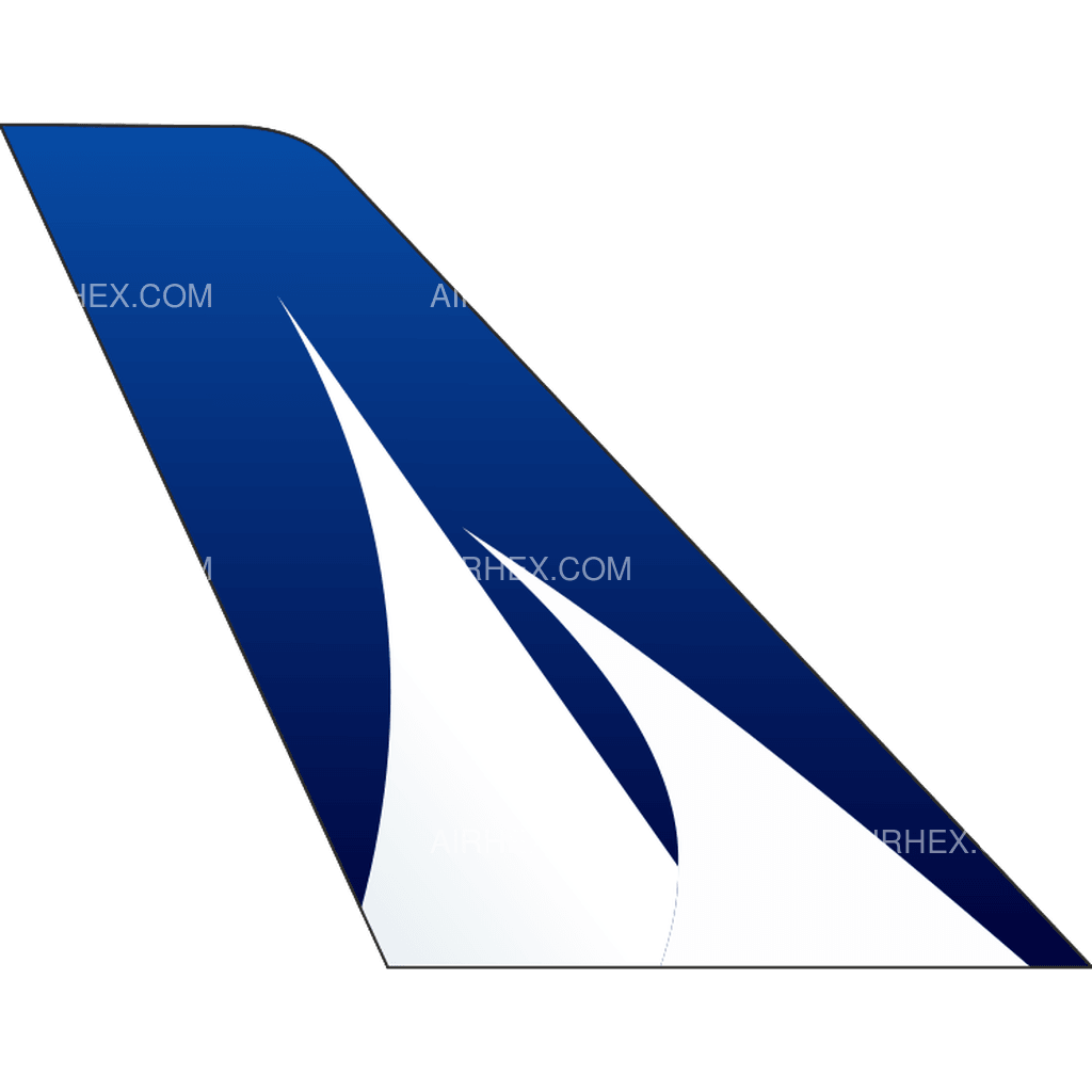 Corsair International tail logo