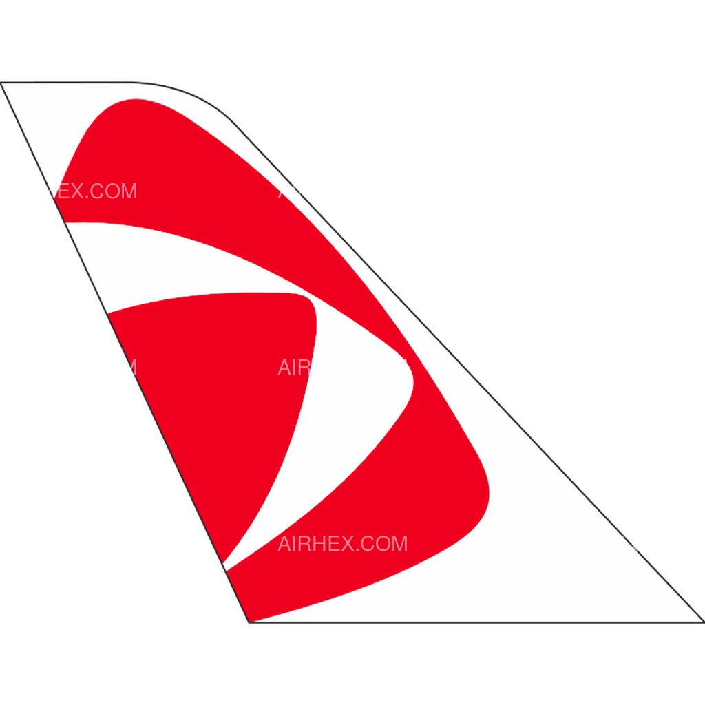 CSA Czech Airlines tail logo