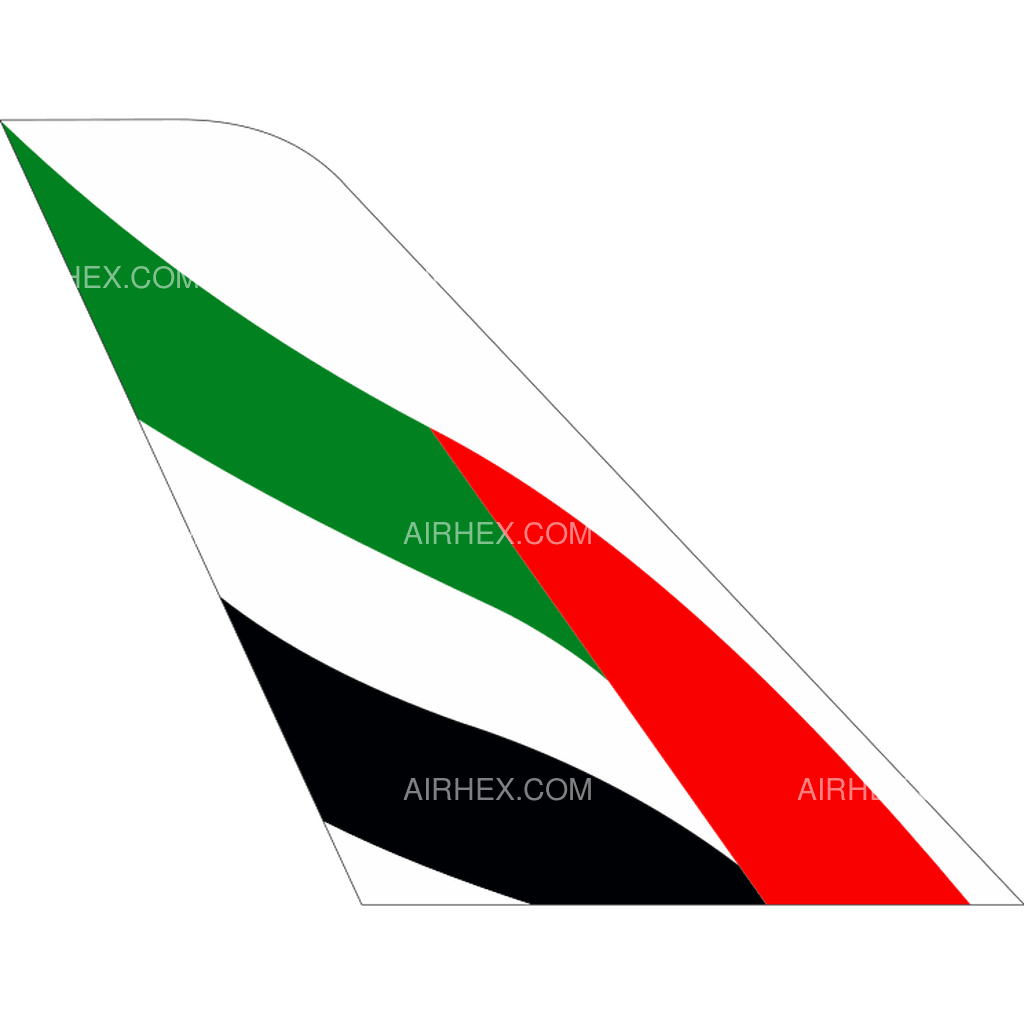 Emirates tail logo