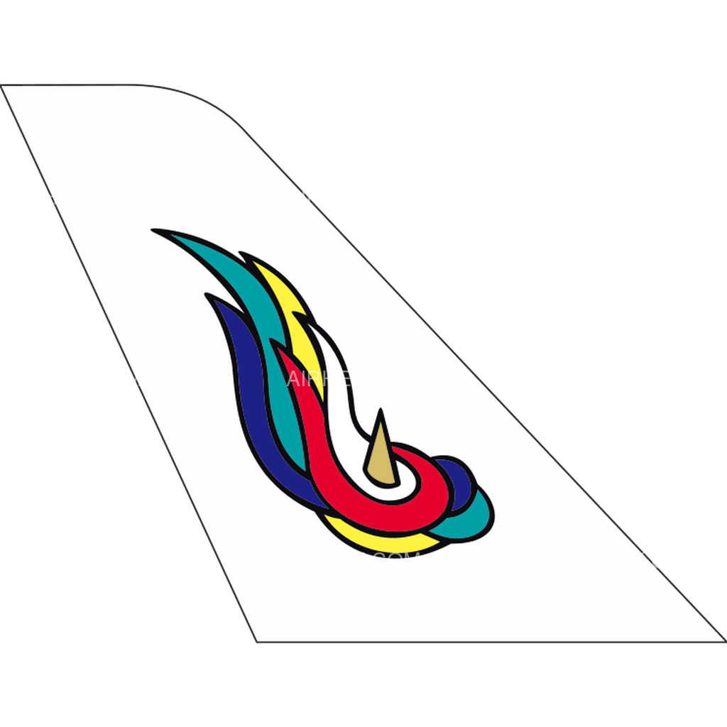 Genghis Khan Airlines tail logo