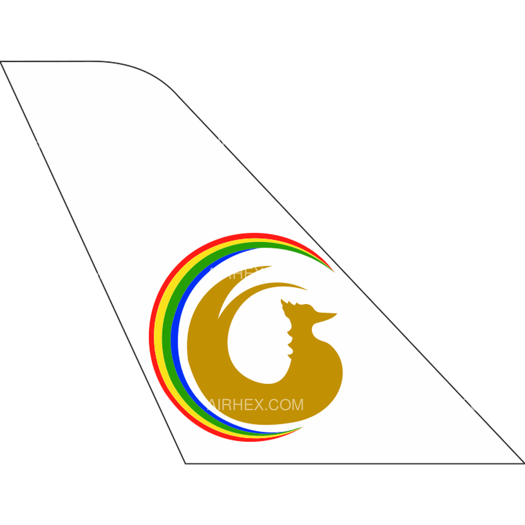 Golden Myanmar Airlines tail logo