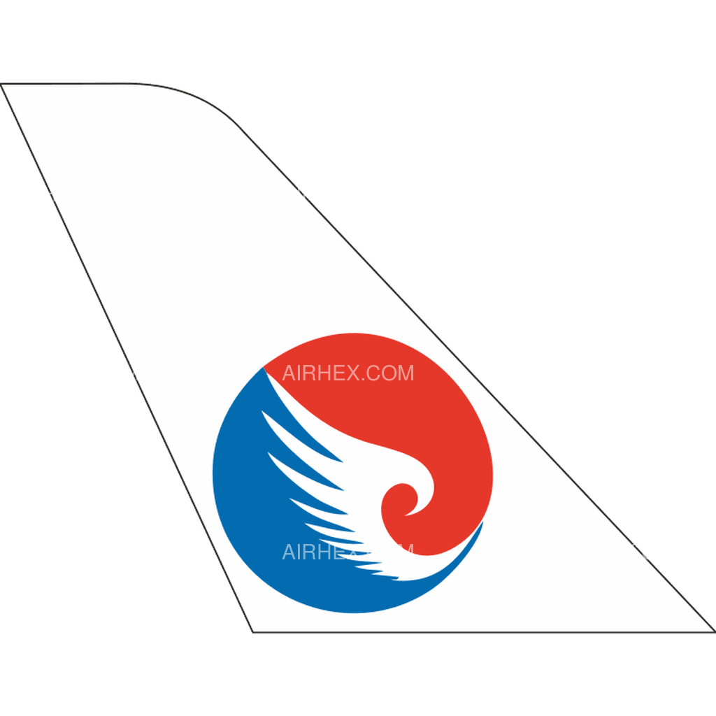 Hebei Airlines tail logo