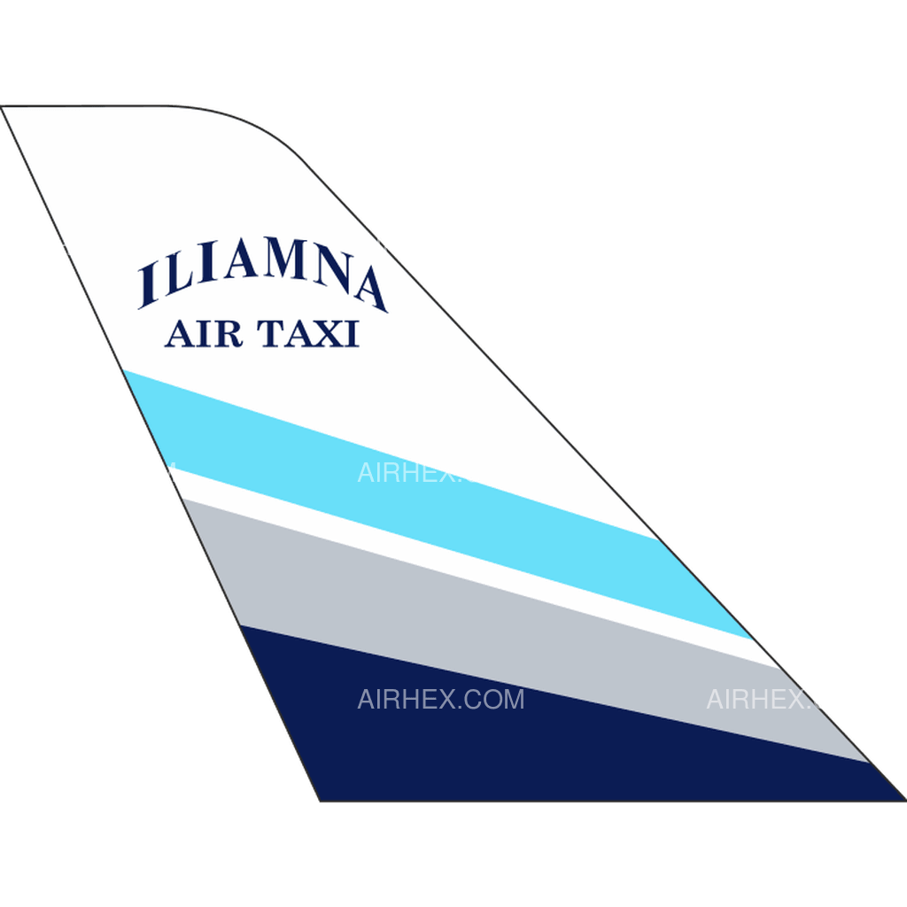 Iliamna Air Taxi tail logo
