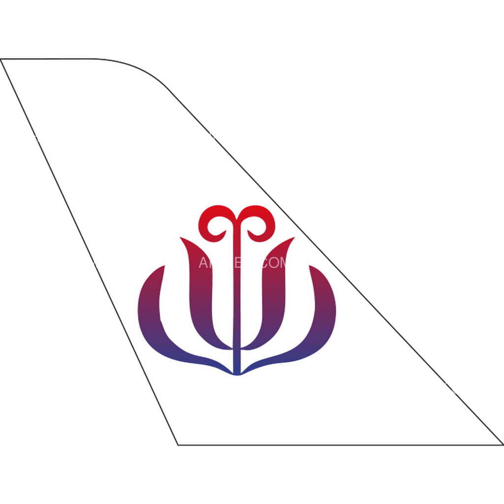 JC International Airlines tail logo