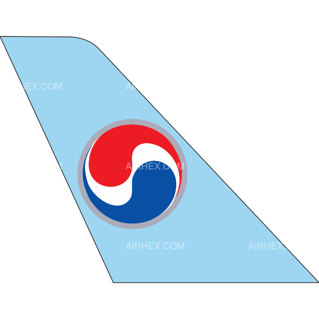 Korean Air tail logo