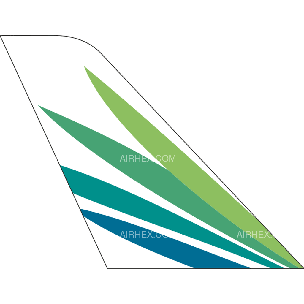 Lanmei Airlines tail logo