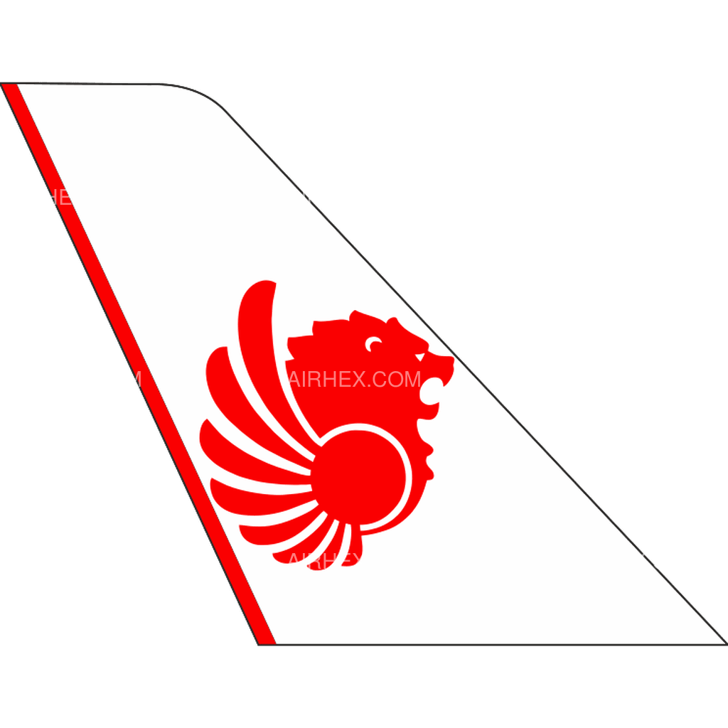 Lion Air tail logo