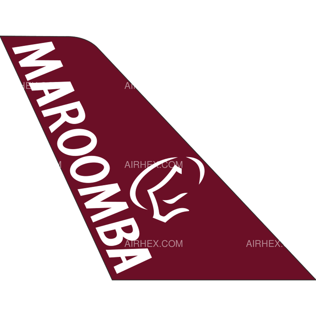 Maroomba Airlines tail logo