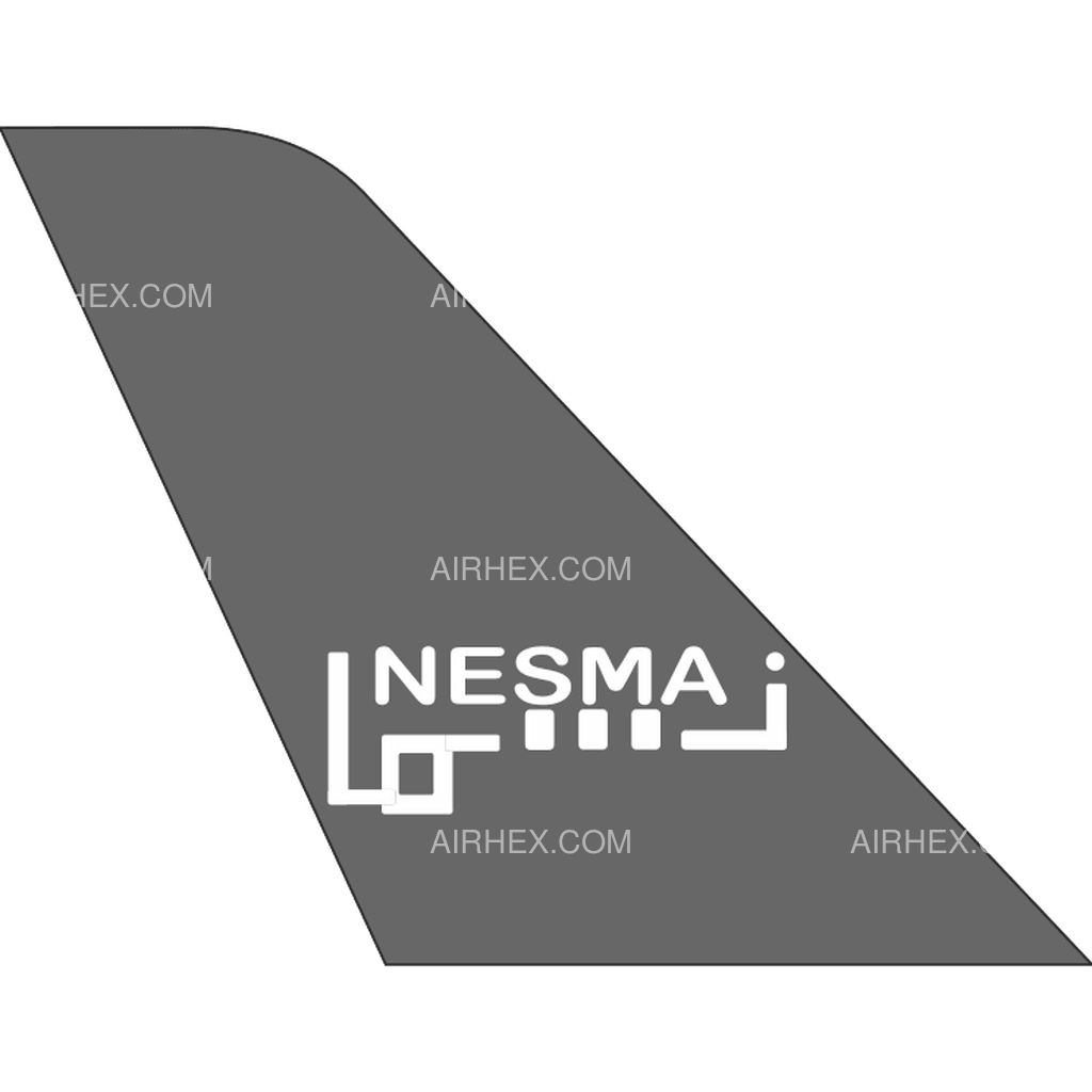 Nesma Airlines tail logo