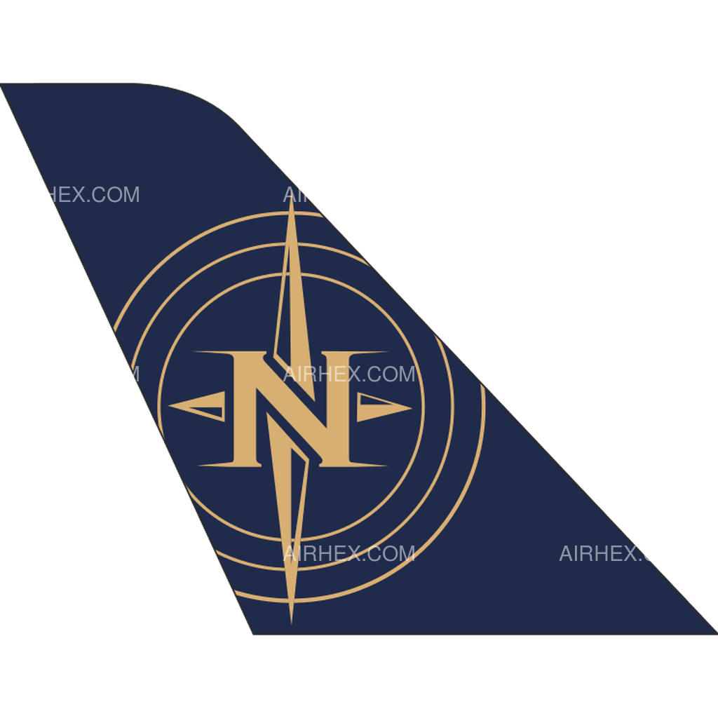 Nolinor Aviation tail logo