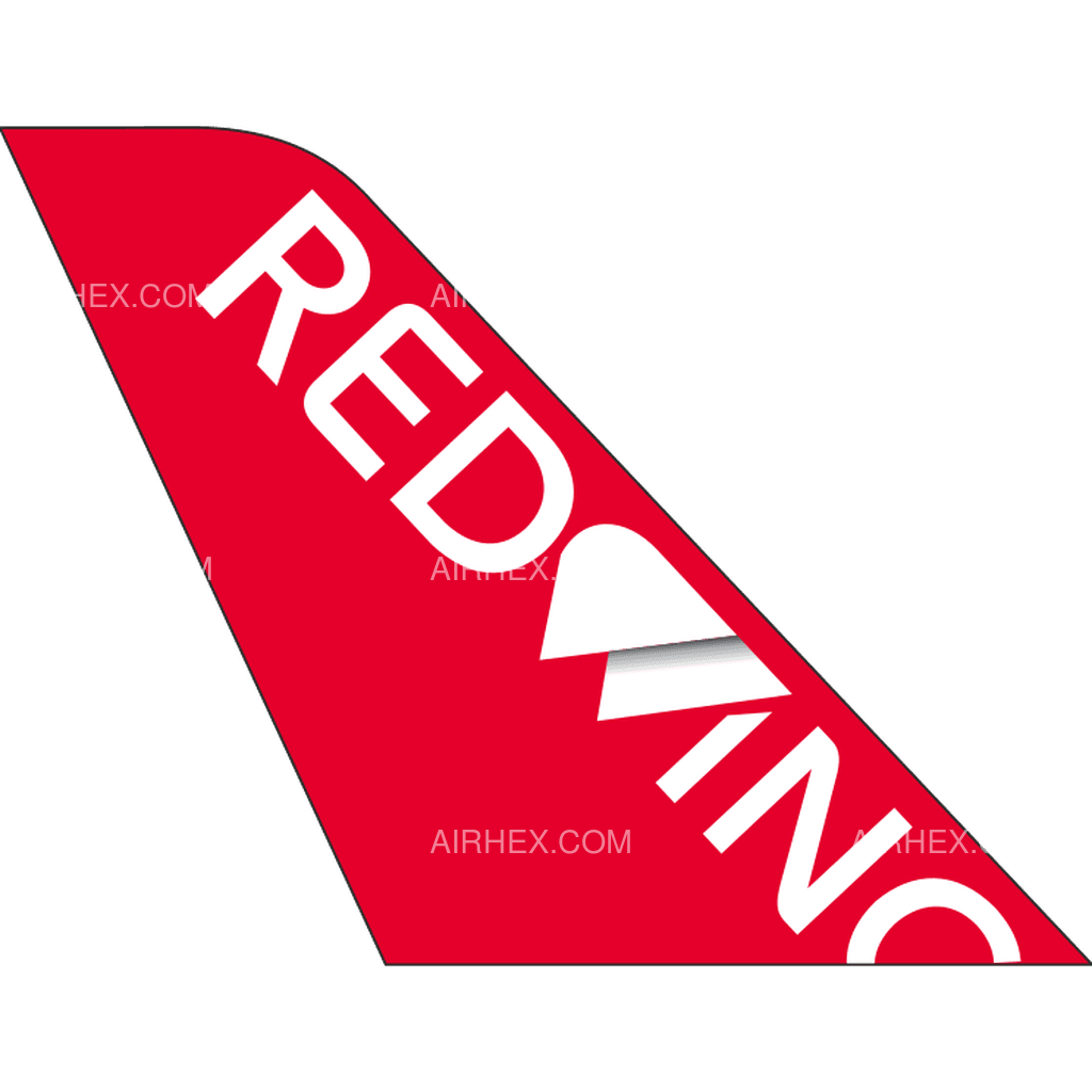 Red Wings tail logo