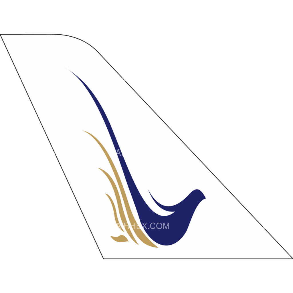 Saha Airlines tail logo