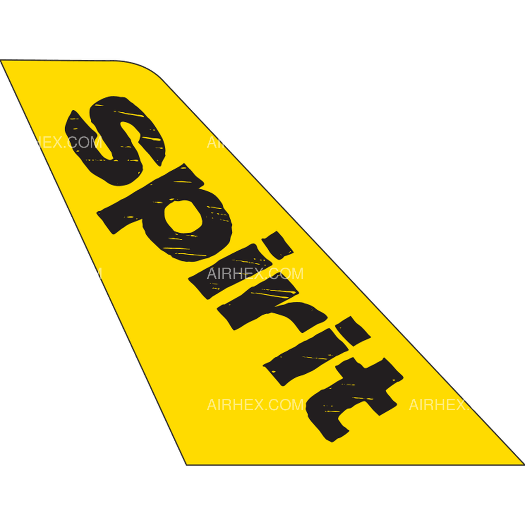 Spirit Airlines tail logo
