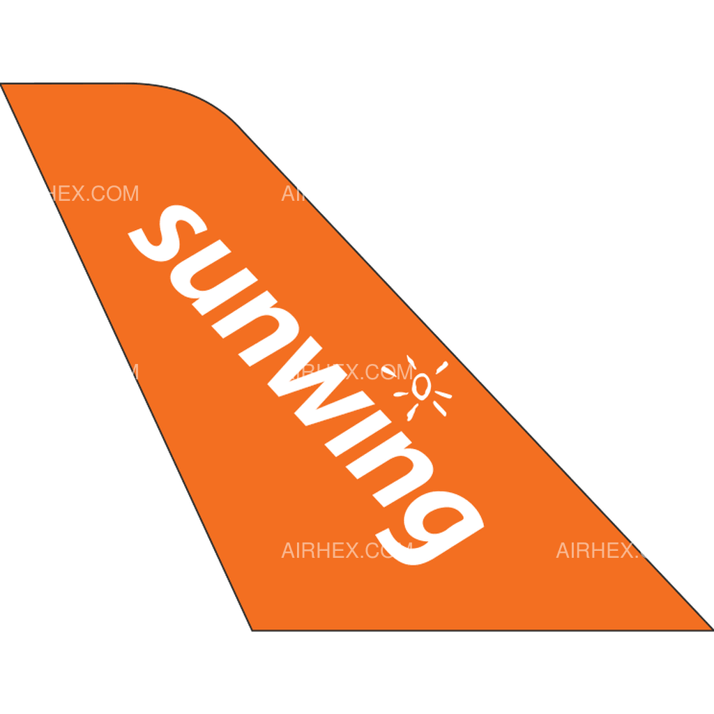 Sunwing Airlines tail logo