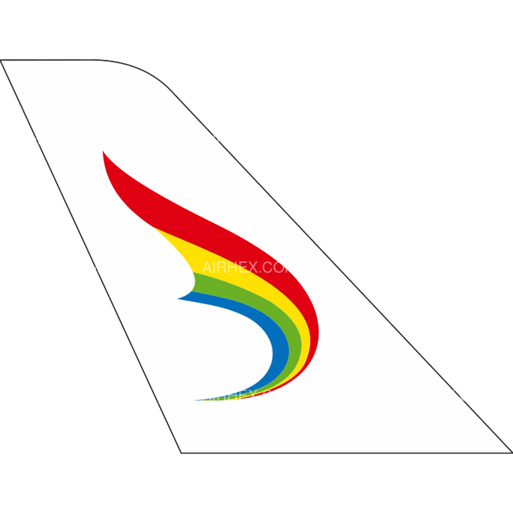 Tibet Airlines tail logo