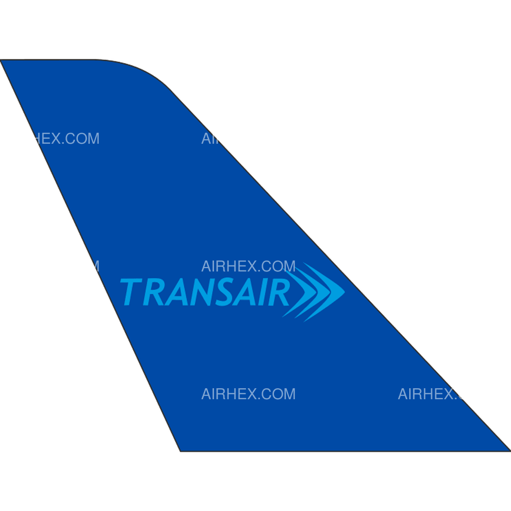Transair Senegal tail logo