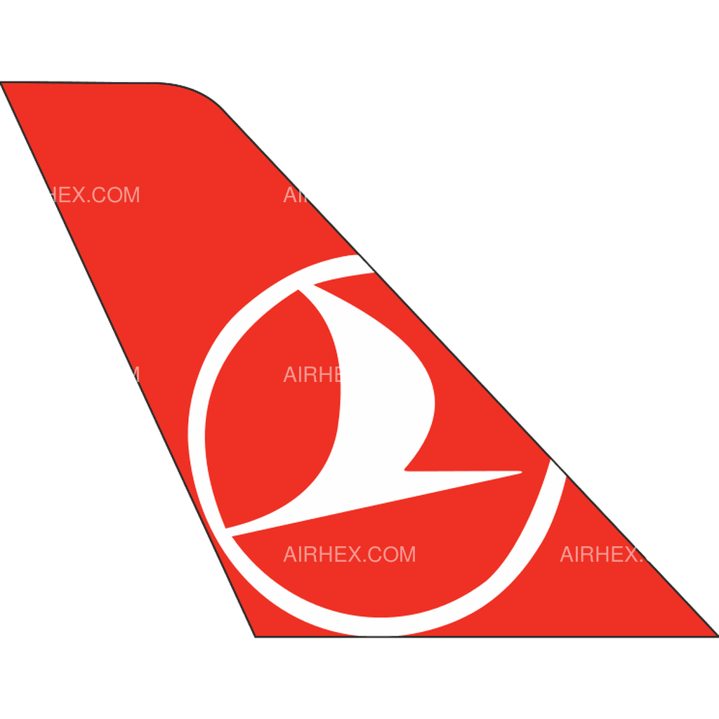 Turkish Airlines tail logo